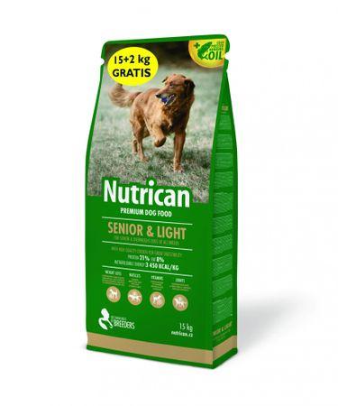 Nutrican Senior & Light 15 kg + 2kg Zdarma