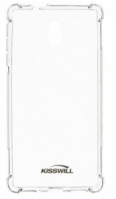 Kisswill silikonski ovitek Shock za Nokia 3, prozoren