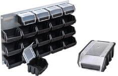 PATROL Metal Profi 600 FX predalnik , črn - Odprta embalaža