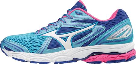 Mizuno ženske tenisice Wave Prodigy Aquarius/White/Pinkglo, plave, 40
