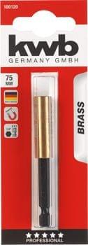 KWB magnetna glava za vijačne nastavke, 75 mm, E 6.3, ISO 1173 (100120)