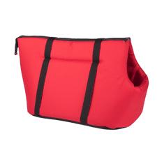Argi prenosna torba za psa, poliester, rdeča