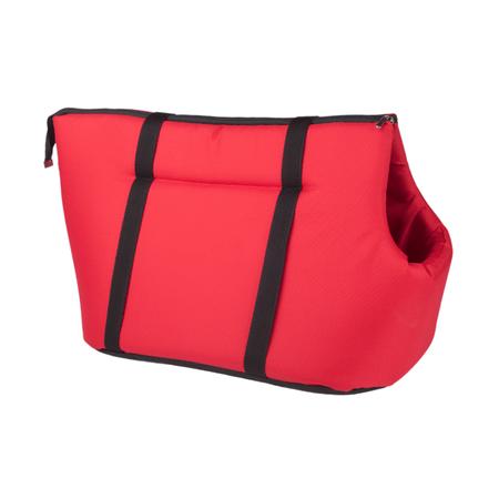 Argi torba na psa, poliester, czerwona, rozmiar S