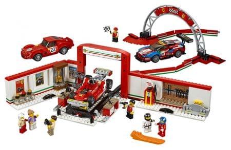 LEGO Čudovita garaža Ferrari, Speed Champions 75889