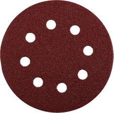 KWB samoljepljivi brusni papir za drvo i metal, Ø 125 mm, GR 120, 5 komada (491912)