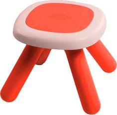 Smoby stołek dla dzieci czerwony