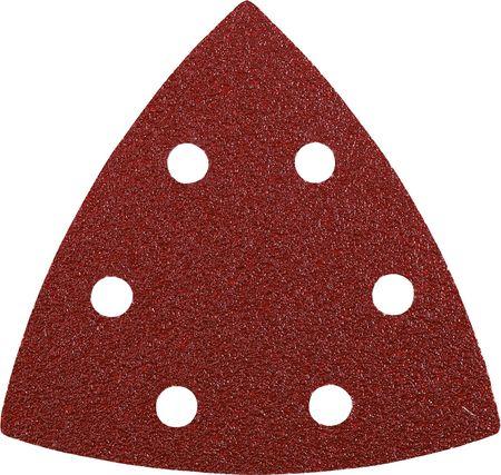 KWB samoljepljivi brusni papir, trokutast (96 mm), GR 40, 5 komada (492804)