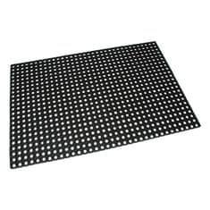 FLOMAT Gumová vstupní čistící rohož na hrubé nečistoty Honeycomb - 150 x 100 x 2,2 cm