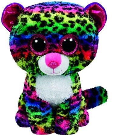 TY Beanie Boos leopárd DOTTY, 24 cm - Medium