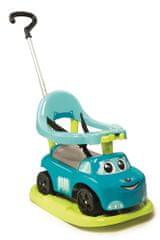 Smoby otroški elektronski avtomobil z zibalko, moder