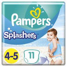 Pampers hlačne plenice za v vodo Splashers 4-5 (9-15 kg) 11 kosov