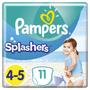 1 - Pampers Splashers úszópelenka 4-5 (9-15 kg) 11 db