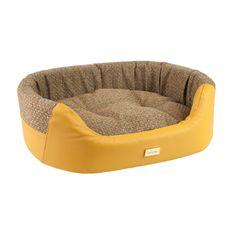 Argi Pelech pre psa oválny - Morgan - žltý