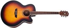 Washburn WJ7SCEATBM-O-U Elektroakustická gitara