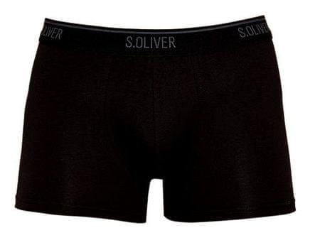 s.Oliver trojité balení pánských boxerek XXL černá