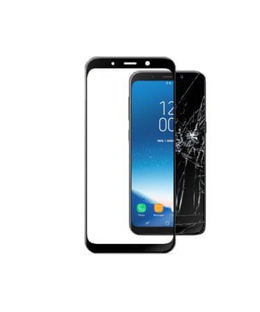 CellularLine zaštitno staklo Capsule za Samsung Galaxy A8 (2018), crno