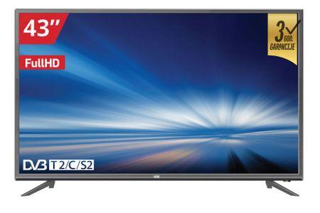 VOX electronics LED TV sprejemnik 43DSA311G