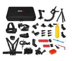 MAX MAC2001B uniwersalny zestaw akcesoriów 43w1 dla kamer sportowych