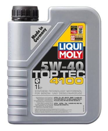 Liqui Moly motorno olje LM TOP TEC 4100 5W40, 1L