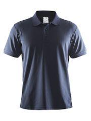 Craft moška polo majica Pique Classic, modra