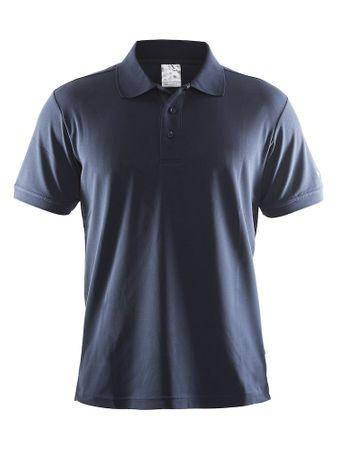 Craft moška polo majica Pique Classic, modra, M