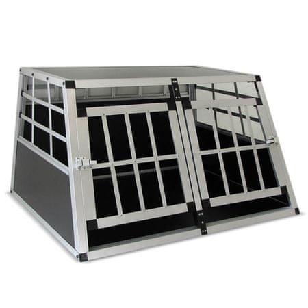 Kavez za prijevoz psa, L (89 x 69 x 50 cm)
