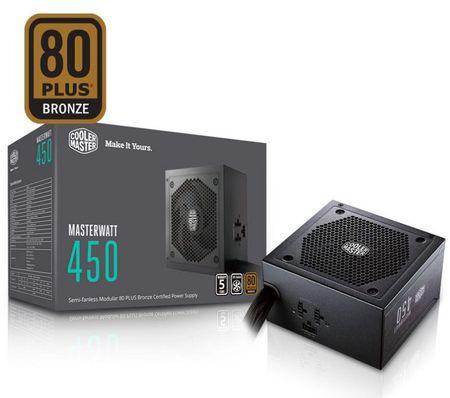 Cooler Master modularni napajalnik MasterWatt 450W ATX