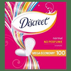 Discreet wkładki higieniczne bezzapachowe, 100 szt.
