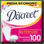 2 - Discreet wkładki higieniczne bezzapachowe, 100 szt.