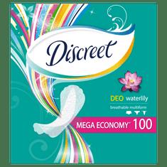 Discreet wkładki higieniczne Waterlily, 100 szt.