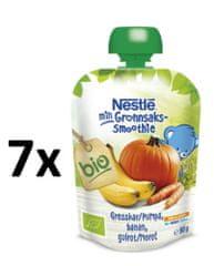 Nestlé BIO kapsička Tekvica, Banán, Mrkva 7x90g