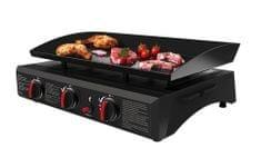 Be Nomad Asztali gáztűzhely grill (7,5k W) - fekete