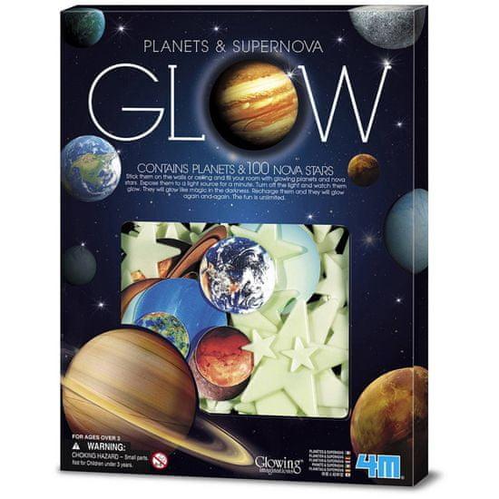 4M Hviezdy a planéty žiariace v tme
