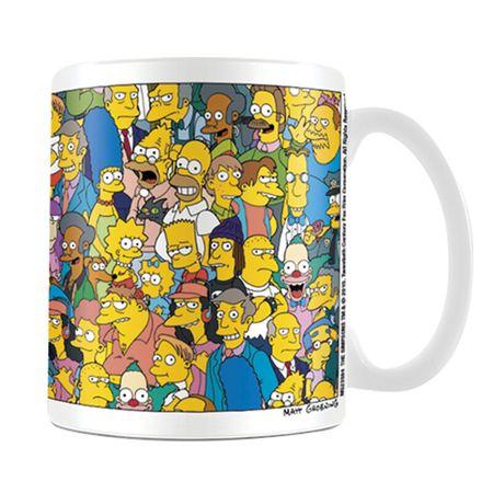 Hrnek The Simpsons - postavičky (0,3 l.)