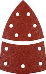 KWB samolepilni brusni papir za les in kovino, 12 kosov različne granulacije (496170)
