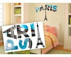 Dimex Dekoračné nápisy Paris, 65 x 100 cm