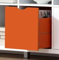 Predal Cubix, oranžen