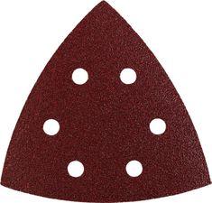 KWB samolepilni trikotni brusni papir za les in kovino, 20 kosov različne granulacije (492770)