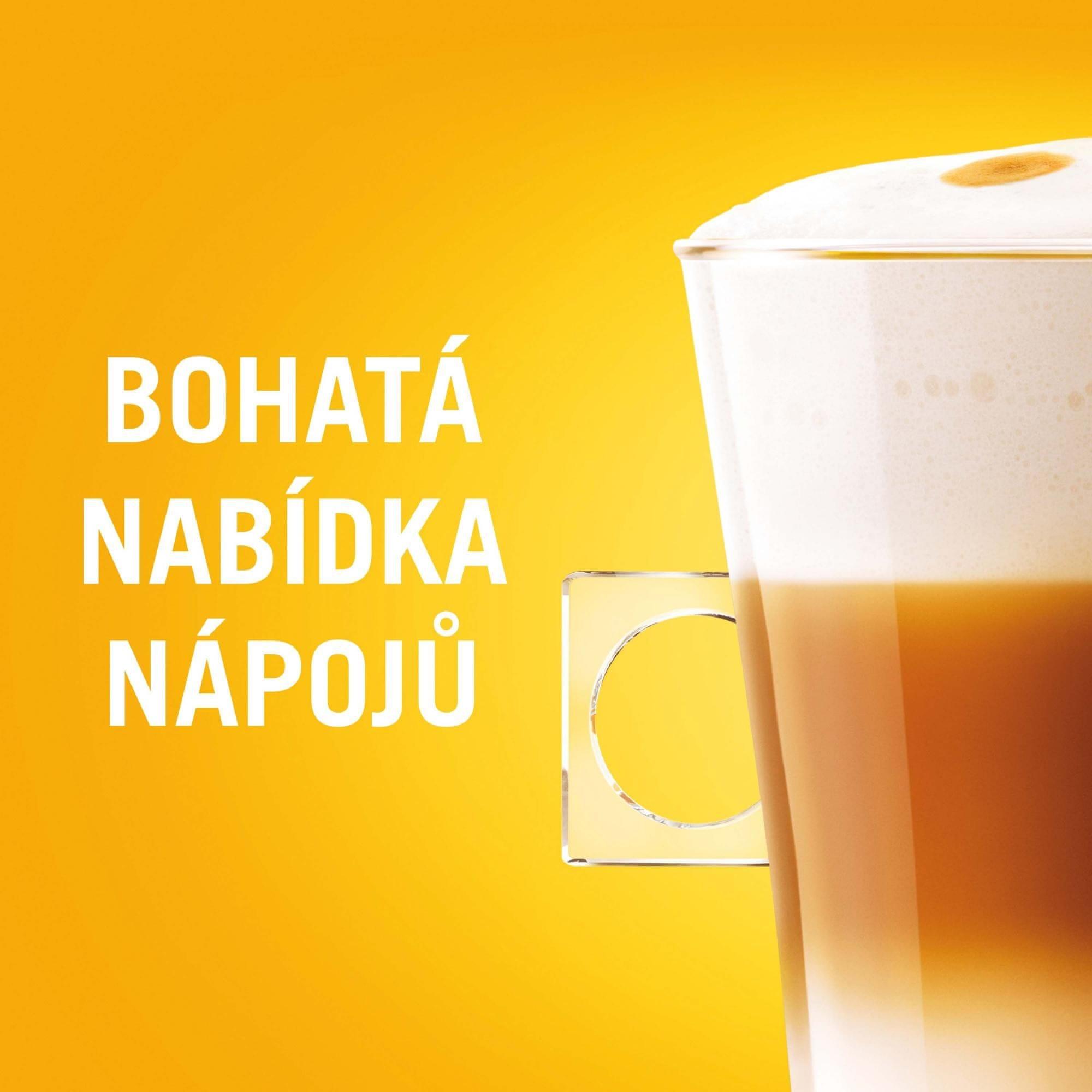 NESCAFÉ Dolce Gusto Café Au Lait Intenso bohatá nabídka nápojů