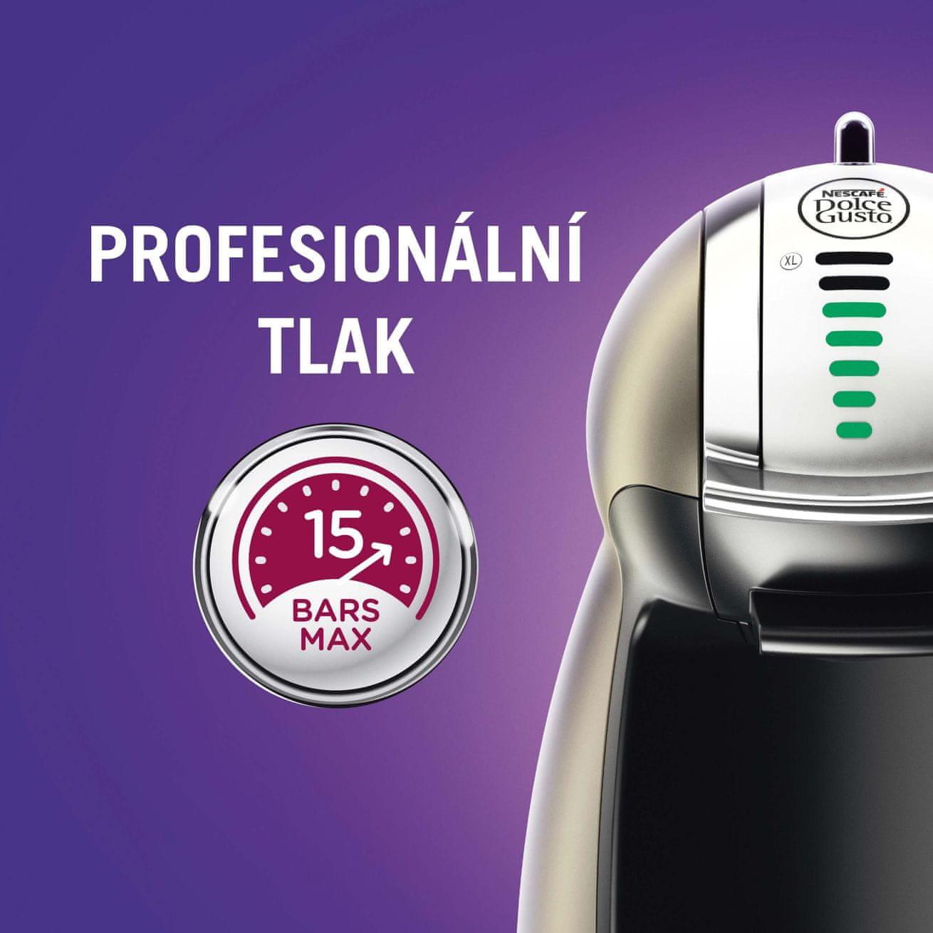 Kávovary Dolce Gusto profesionální tlak