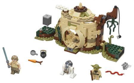 LEGO Star Wars 75208 Skrivališče mojstra Yode