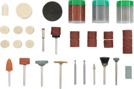 KWB komplet miniaturnega večnamenskega orodja, 105 kosov (510900)