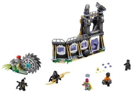 LEGO Super Heroes 76103 Corvus Glaive napade