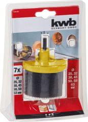 KWB nastavak za bušenje rupa (599100), 7 oštrica (Φ 25 - 63 mm)