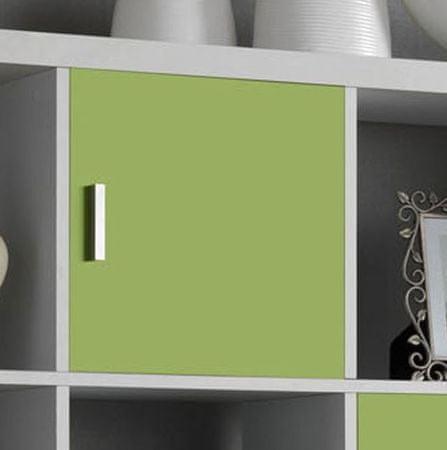Vrata Cubix, zelena