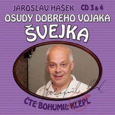 Hašek Jaroslav: Osudy dobrého vojáka Švejka (3 & 4)- KNP-2CD