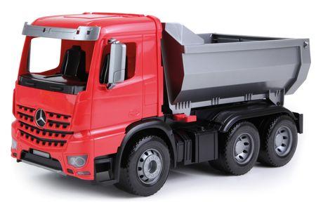 LENA Mercedes Arocs billenős teherautó, dísz karton