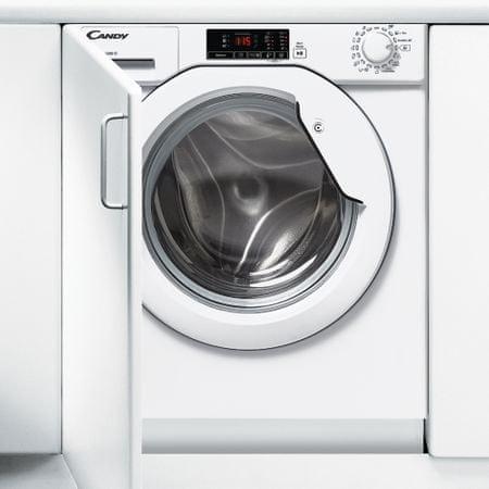 CANDY CBWM 814D-S Beépíthető elöltöltős mosógép, A+++