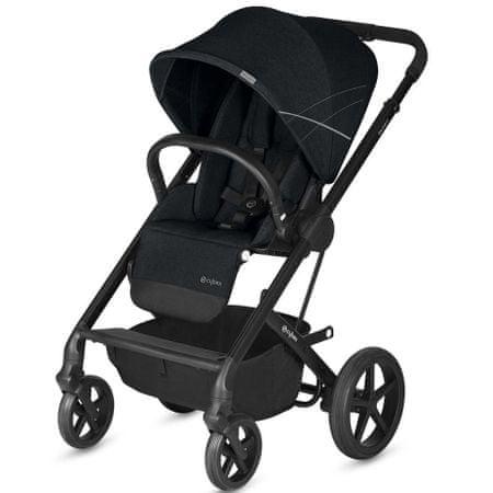Cybex otroški voziček Balios S 2019, Lavastone Black, črn