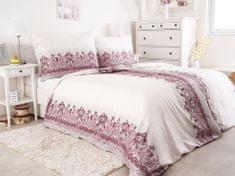 B.E.S. Petrovice Obliečky Hedebo 140x220 bavlnený satén, ružová